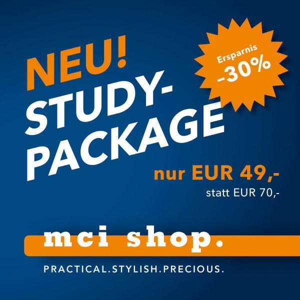Study-Package at discounted price