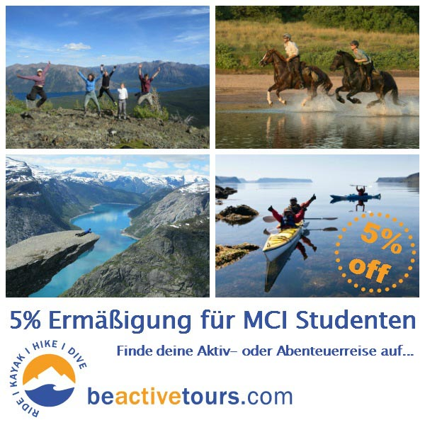 -5% off on adventure trips